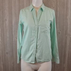 Classic Button Down Oxford Guess Mint Green XSmall